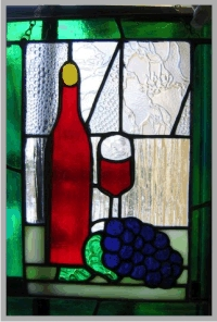 Grape Vine Pattern With Branches (Worden W18-2) - Alpine Stained