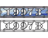 19973 house transom pattern