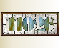 11026 house numbers transom