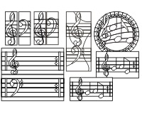 8 music patterns