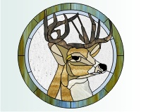 Deer Stained Glass Pattern