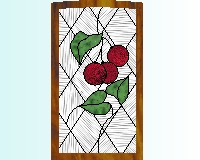 Tucson Cabinet Glass: stained glass for kitchen cabinets