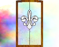 Kitchen Stained Glass Windows & Cabinets | Custom Stained