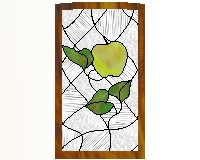 ... Patterns Mode Kitchen Cabinet Stained Gl Pattern 1 Var1 ...