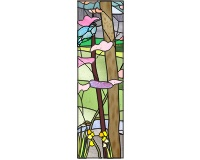 Spring (left panel to four seasons beams birds group)
