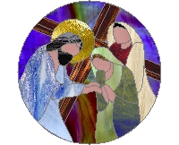 Station VIII of the cross - women of Jerusalem