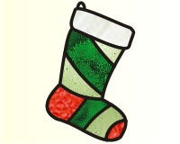 Christmas - Stocking 2011 (ornament)