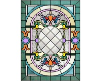 Victorian entry 2 (stained glass pattern)