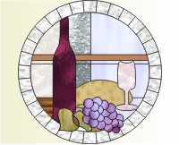 Stained glass grape patterns Craft Supplies | Bizrate
