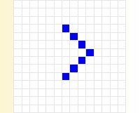 blank cross stitch squares