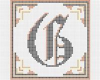 olde cross stitch alphabet pattern